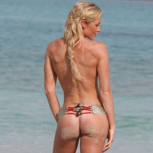 nell mcandrews topless on the beach ass cheeks visible