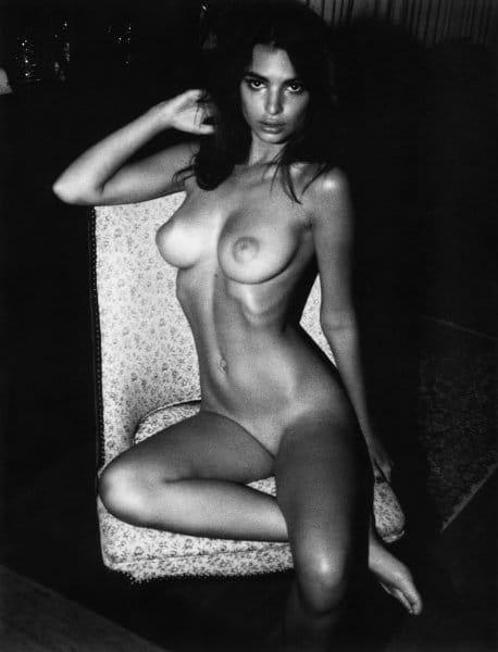 naked on a chair emily ratajkoski