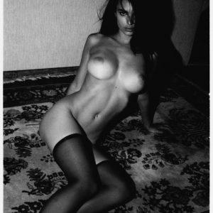 sexy emily ratajkoski nude with thigh highs on