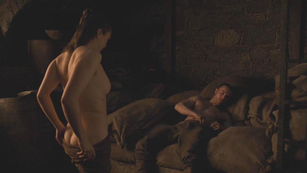 Arya Stark sex scene (Game of Thrones)