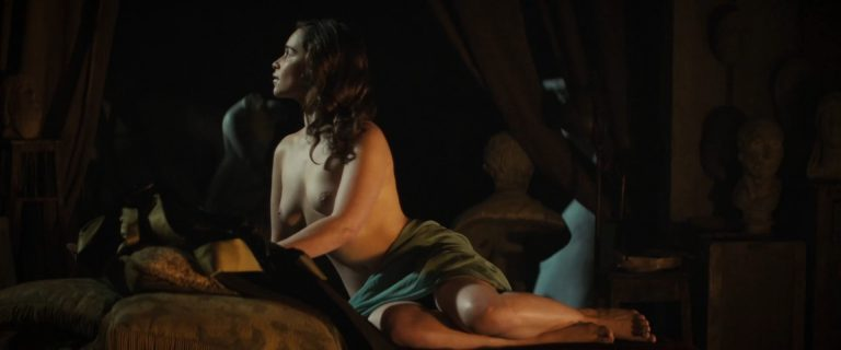 Emilia Clarke Naked - Voice From The Stone (7)