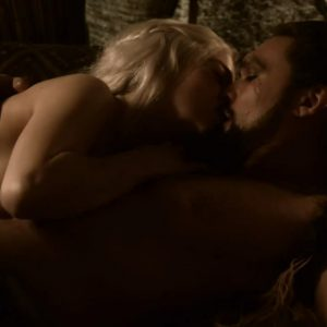 mother of dragons sex scene