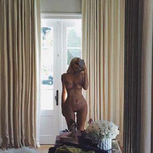 lingerie selfie by Kylie Jenner