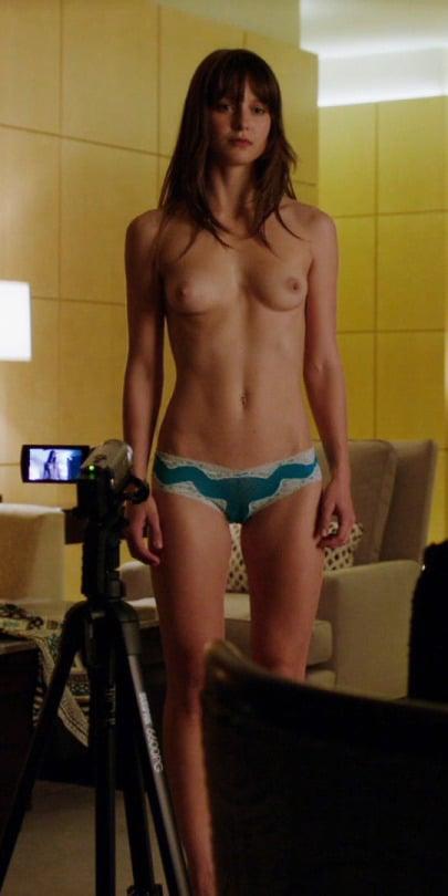 Melissa Benoist nude titties visible