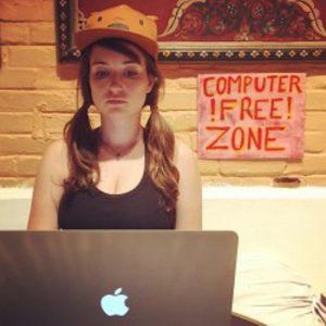 celeb milana vayntrub leaked fappening pic of her on her laptop