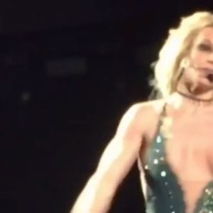 Britney Spears Nip Slip on stage