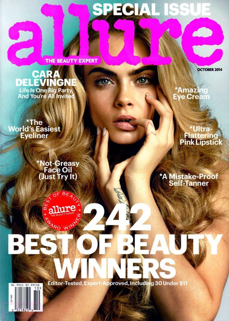 Cara Delevingne Allure magazine cover
