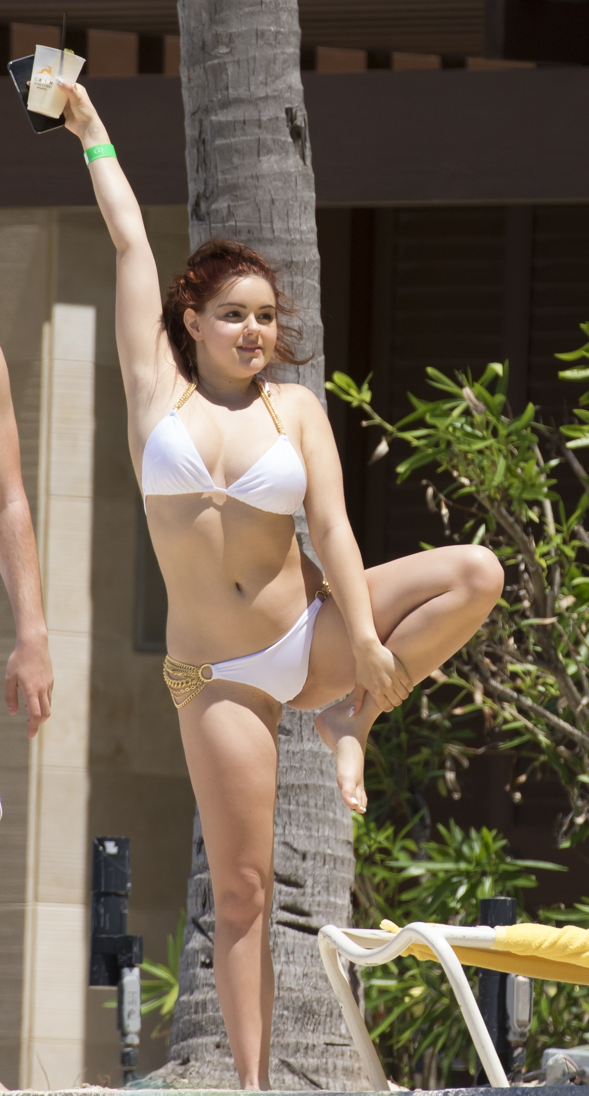 Ariel Winter exposing boobs