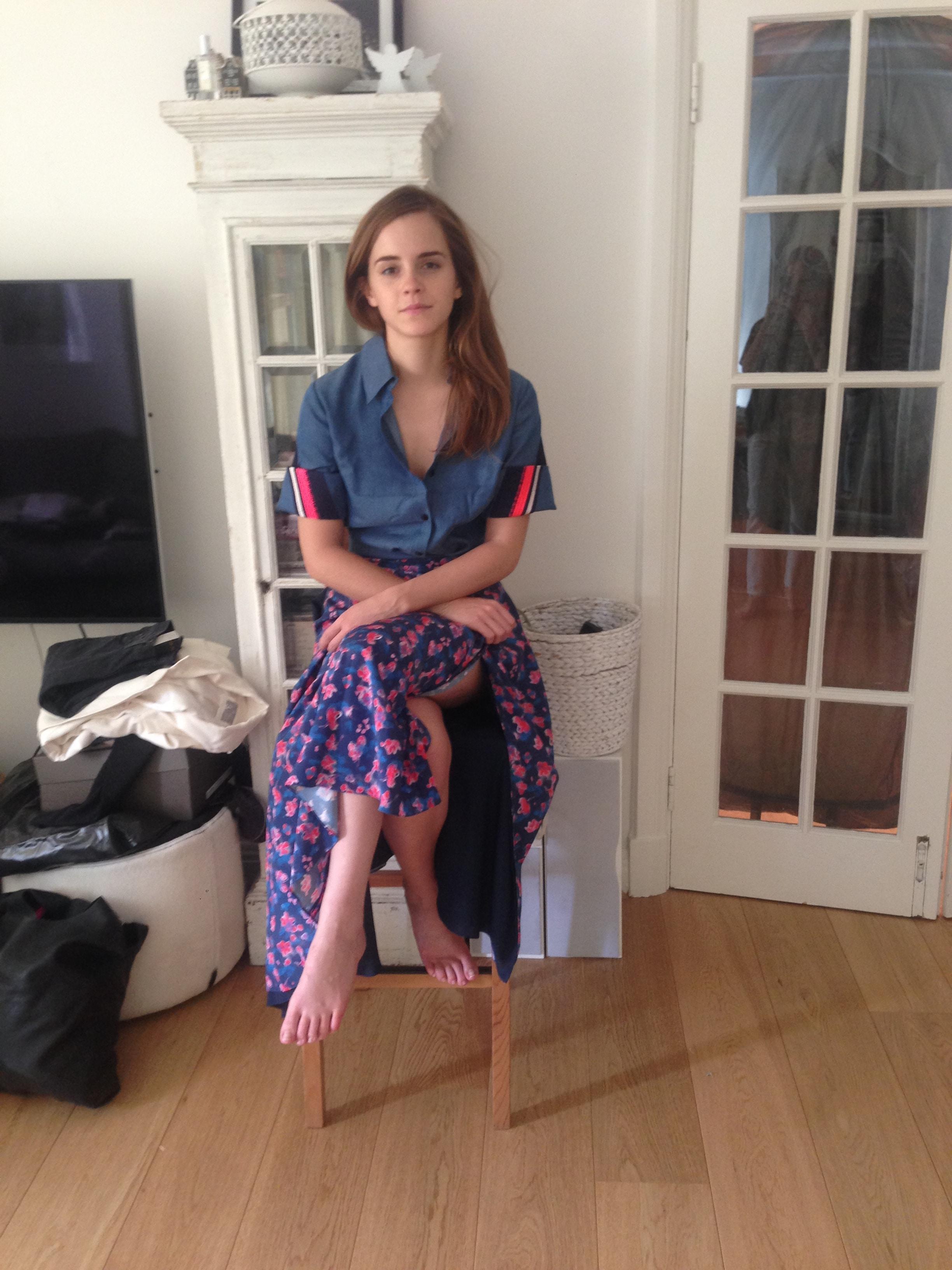 Emma Watson leaked nude