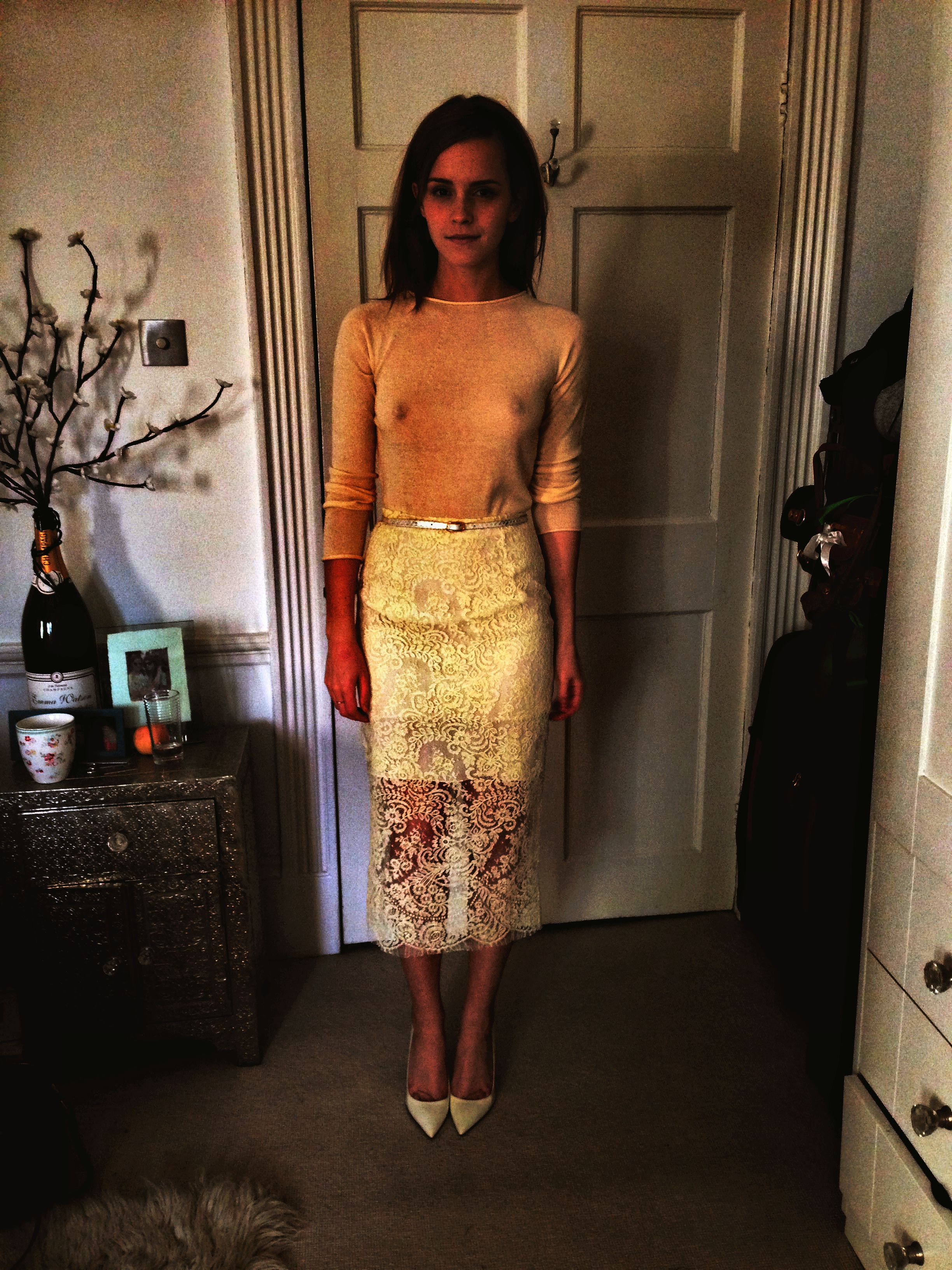 Emma Watson nude boobs