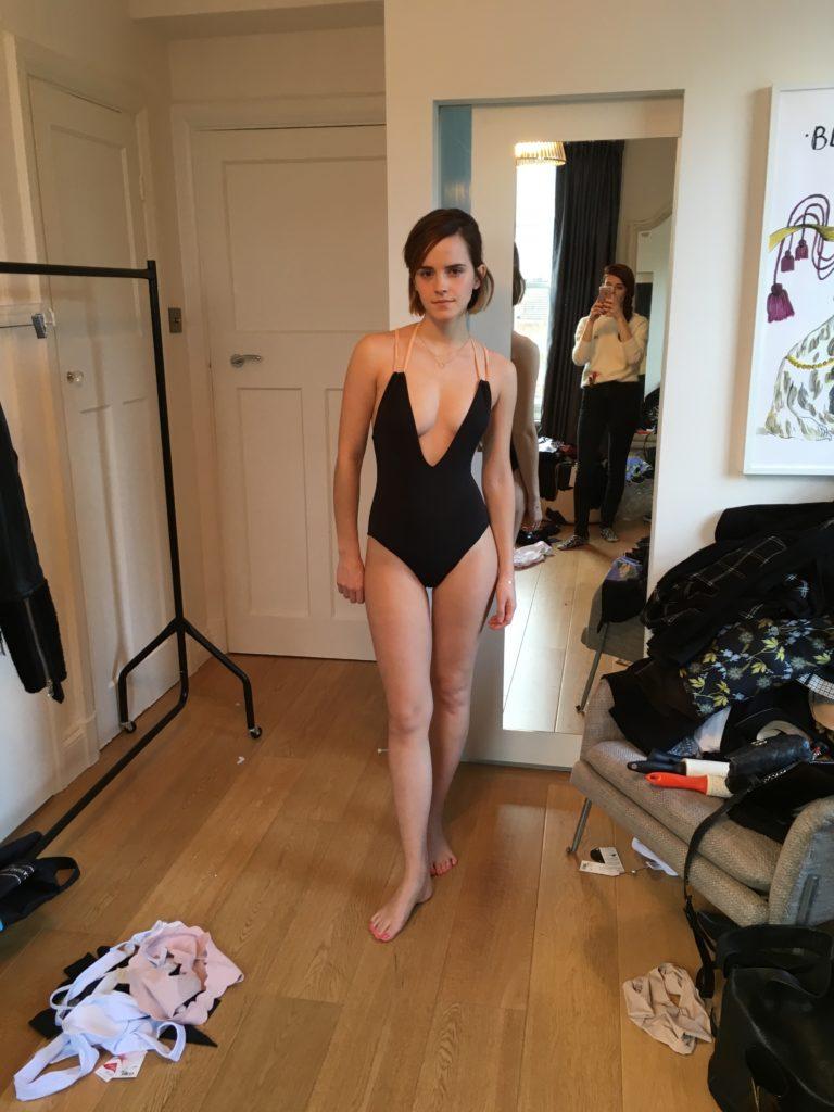 Emma Watson pussy showing