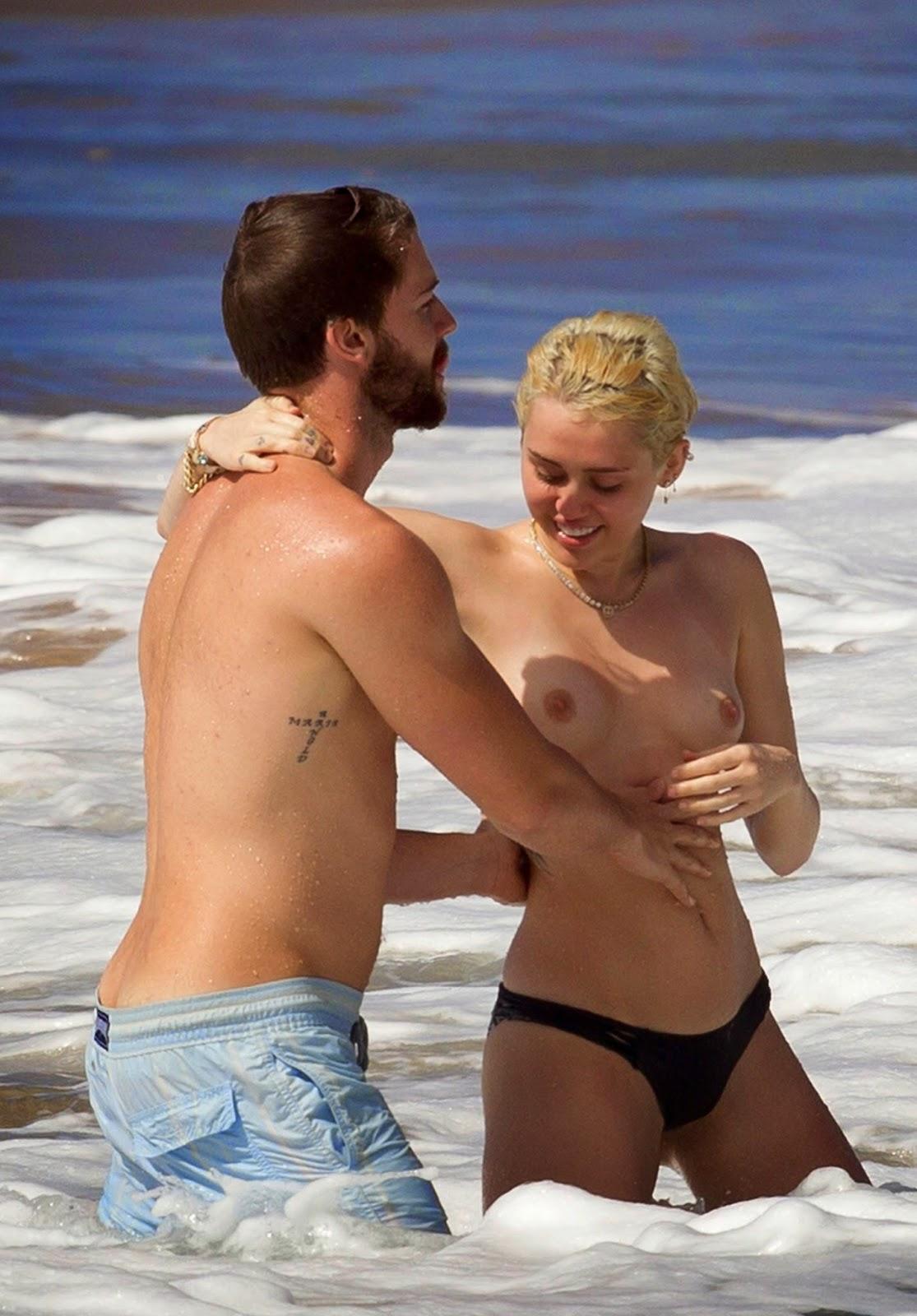 Miley Cyrus leaked nude