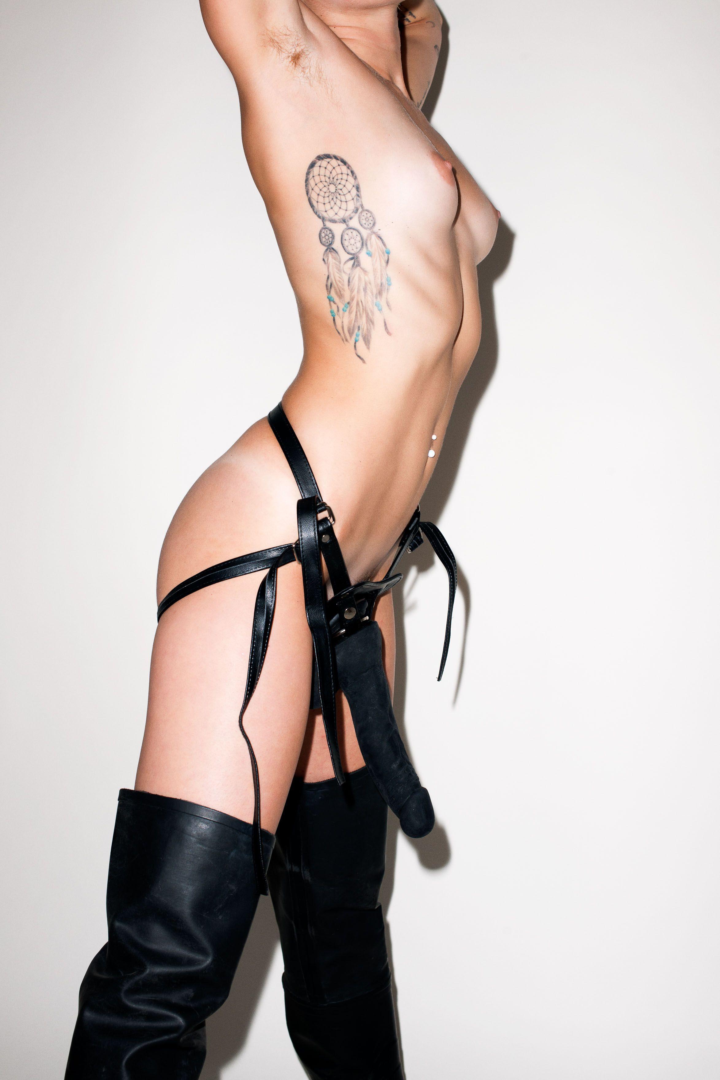 Miley Cyrus posing