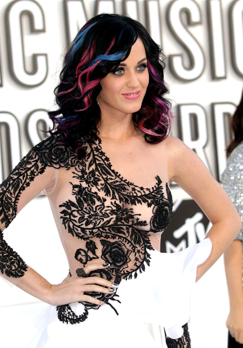 Katy Perry shaved pussy